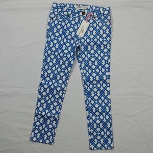 Vineyard Vines Lattice Print 5-Pocket Jean Kids 7